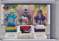 2018 Panini Illusions Lt17 Triple Multi-color Patch Henry Howard Hurst 3/5 9060