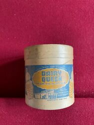 1948, Dairy Queen, Ice Cream Container 1-pint Scarce / Vintage