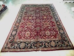 Dazzling 10x15 Authentic Hand Knotted Mahal Rug B-72057