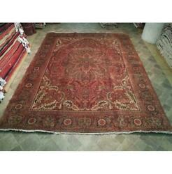 10x13 Authentic Hand Knotted Semi-antique Rug B-73790