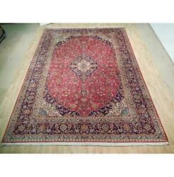 10x13 Authentic Hand Knotted Semi-antique Rug B-73003