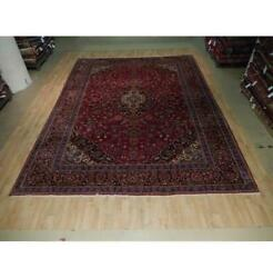 10x13 Authentic Hand Knotted Semi-antique Rug B-73594