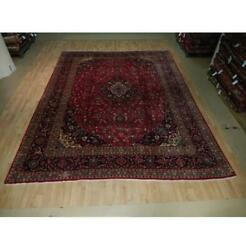 10x13 Authentic Hand Knotted Semi-antique Rug B-73552
