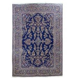 11x16 Authentic Hand Knotted Oriental Wool Royal Blue B-80162
