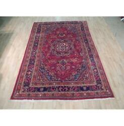 6x10 Authentic Hand Knotted Semi-antique Rug B-72021