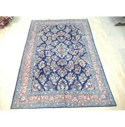 7x10 Authentic Hand Knotted Semi-antique Rug B-72243