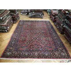 9x12 Authentic Hand Knotted Semi-antique Rug Pix-23403