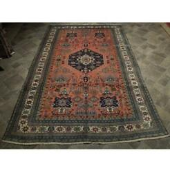 6x10 Authentic Hand Knotted Semi-antique Rug B-73966