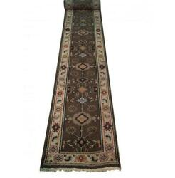 3x20 Authentic Hand Knotted Mahal Runner B-74152
