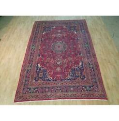 6x10 Authentic Hand Knotted Semi-antique Rug B-72790
