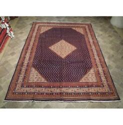 7x10 Authentic Hand Knotted Semi-antique Mir Rug B-73915