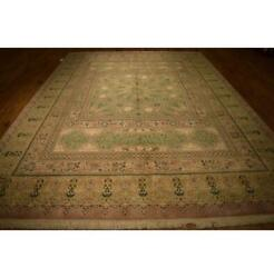 9x13 Authentic Hand Knotted Rug La-53067