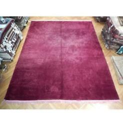 12x15 Authentic Handmade Soft And Thick Purple Contemporary Rug Pix-22979