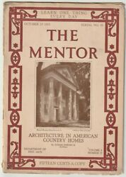 F540 The Mentor Oct. 15, 1915 American Country Homes Vintage Magazine Antique