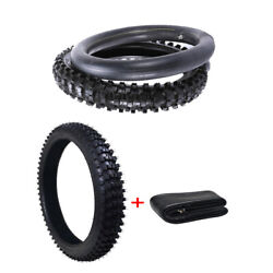 Front 80/100-21 Rear 110/90-18 Tire Tyre+tube For Off Road Dirt Pit Money Bike