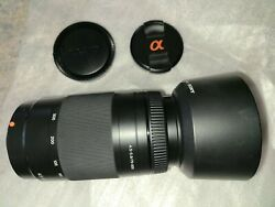 Sony 75-300mm F/4.5-5.6 Compact Super Telephoto Zoom Lens For Sony Alpha Digital