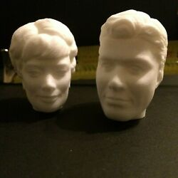 Lost In Space John Maureen Penny Robinson Head Sculpts For Trendmasters Figures