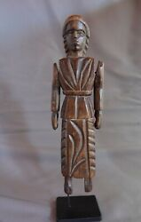 Antique Vintage Handcrafted Guatemalan Woodcarving Folk Art Child's Toy