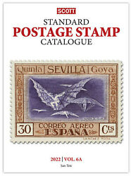 Scott Stamp Catalog 2022 Volume 6a And 6b - Countries San Marino-z Reference Book