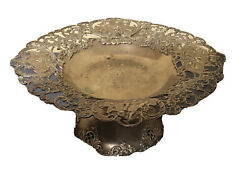 Antique Shreve And Co. Sterling Silver Dish Plate Circa 1900