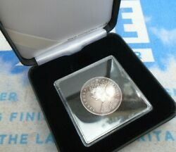 1849 Great Britain Victoria Godless One Florin Two Shillings Silver Coin Boxed A