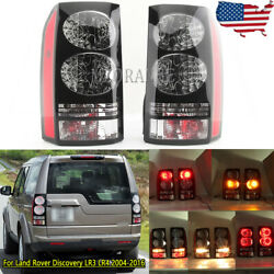 Pair Tail Light For Land Rover Discovery Lr3 Lr4 2004 05-14 2015 2016 Rear Lamp
