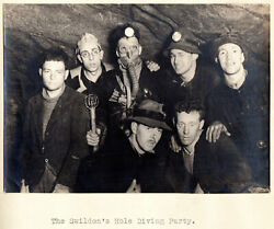 The Log Book Of The Northern Cavern And Fell Club 1934 W/ Real Photo Illus.