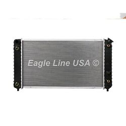 Radiator Fit Blazer S10 Jimmy Sonoma Hombra Bravada 4.3l V6 1 Row 1core Eoc Toc