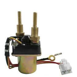 Starter Solenoid Relay For Kawasaki Jf650 X2 650 1987-1990 4-wire Long Bolts New