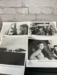 1987 Dear America Letters From Vietnam Lot Of 4 Press Movie Photos