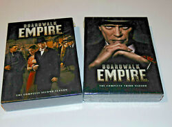 Boardwalk Empire Dvd Set Lot Of 2 - Complete Second And Third Season 2 + 3 -sealed