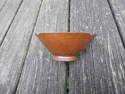 Antique 19th Century Gebelein Boston Copper And Silver Bowl International Sale