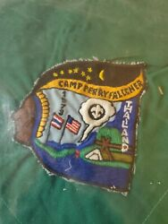 Boy Scout Camp Perry Falconer Kneckerchief 1973 Mint Condition Extremely Rare
