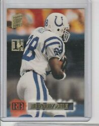 1995 Topps Stadium Club 1st Day Issue Marshall Faulk Indianapolis Colts Hof