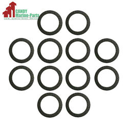 12pc Lower Gearcase Drain Gasket Replaces Mercury Mercuiser 18-2945 And 12-19183 3