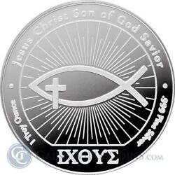 20 - 1 Oz .999 Silver Rounds - Ichthus Silver Round - Uncirculated - New