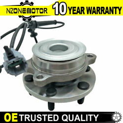 Front Wheel Bearing And Hub Fits Nissan Pathfinder Frontier Xterra Equator 2wd Rwd