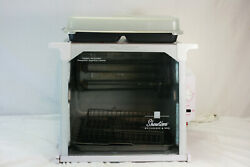 Ronco Showtime Model 4000 Full Size Rotisserie And Bbq Oven White