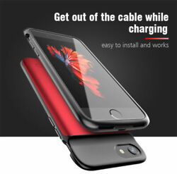 Battery External Power Charger Charging Case Cover For Iphone 6 7 8 Plus X/xr/11