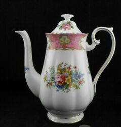 Royal Albert Lady Carlyle Coffee Pot Server Or Hot Water