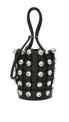 Alexander Wang Roxy Crystal Mini Bucket Bag Black RRP: £585.00 GBP 395.00