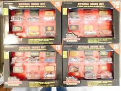 1996 Racing Champions Mint Special Issue 4 Sets Chevy Ford Diecast W/emblems Nib