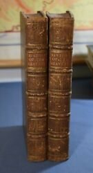 The History Of The Heavens Abbe Pluche De Freval 2 Vols 1740 All Plates Collated