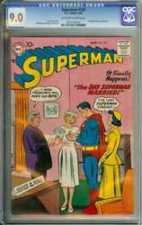 Superman 120 Cgc 9.0 Ow/wh Pages // Full Page Ad For Lois Lane 1