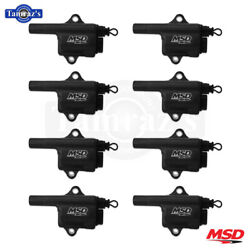 Msd Pro Power Ignition Coils Fits Gm Ls Truck Black 8-pack