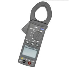 Tes-3050h Dc Digital Dc / Ac Clamp Meter Lcd With Bar-graph 1000a New