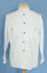 Country White Uniform Army Menand039s Shirt Long Sleeve S