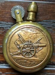 Wwi Trench Lighter - France - Cannon Flags Ww1