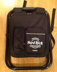 Hard Rock Cafe Backpack Cooler Chair Seat Concert Stadium Tailgate Beach $48.99