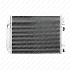 A/c Condenser Fit 09-16 300 Dodge Challenger Charger W/ Power Steering Cooler